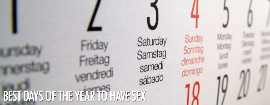 Best days to have sex