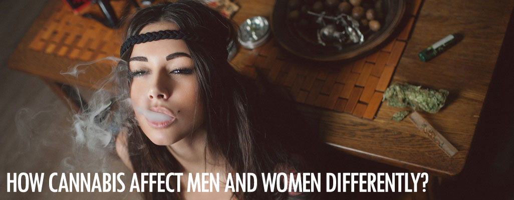 How cannabis affects men and women differently?