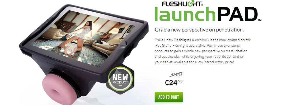 New Sex Toy the iPad Fleshlight Launchpad