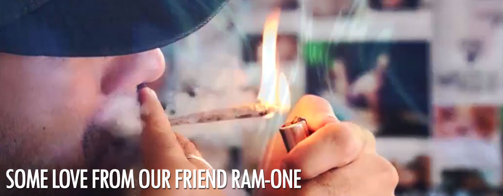 Some love from our friend Ram-One