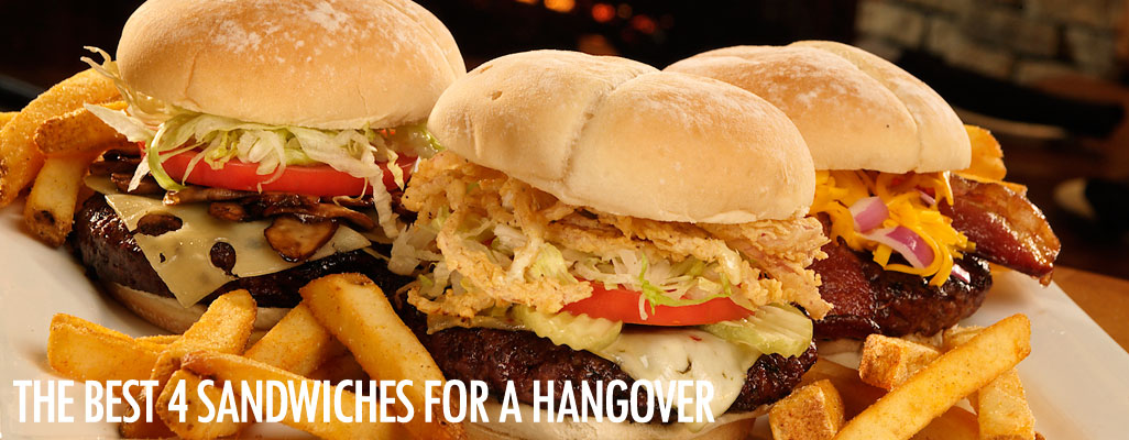 The 4 best sandwiches for a hangover